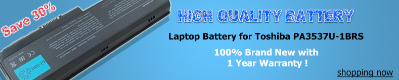 Toshiba pa3537u-1brs battery